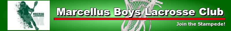 Marcellus Boys Lacrosse Club, Lacrosse, Goal, Field
