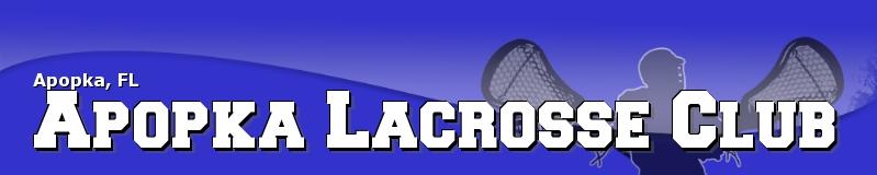 Apopka Lacrosse Club, Inc., Lacrosse, Goal, Field