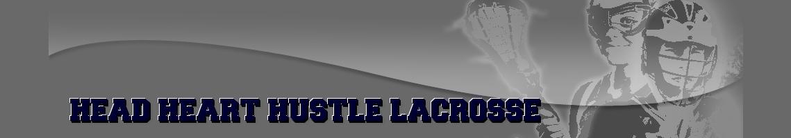 HEAD HEART HUSTLE LACROSSE, Lacrosse, Goal, Field