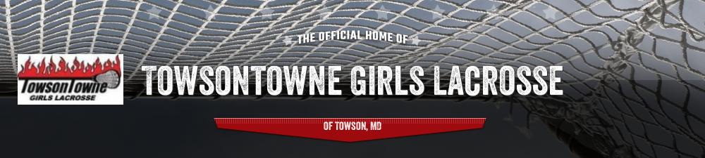Towsontowne Girls Lacrosse, Lacrosse, Goal, Field