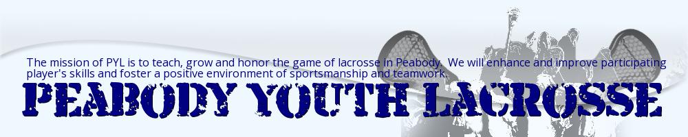 Peabody Youth Lacrosse, Lacrosse, Goal, Field