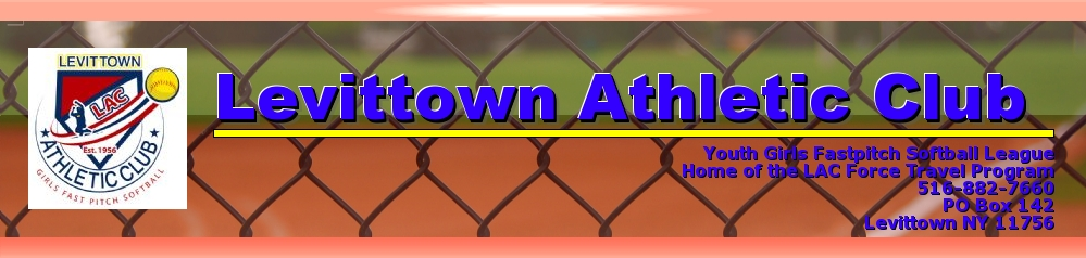Levittown Athletic Club, Softball, Run, Field