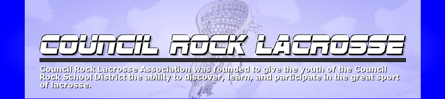 Council Rock Lacrosse Association, Lacrosse, Goal, Field