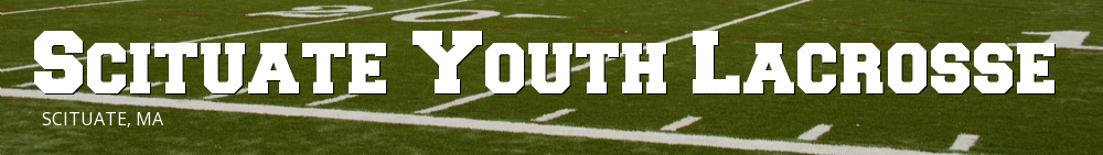 Scituate Youth Lacrosse, Lacrosse, Goal, Field