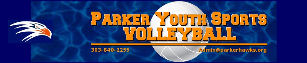 Parker Hawks Volleyball, Volleyball, Point, Gym