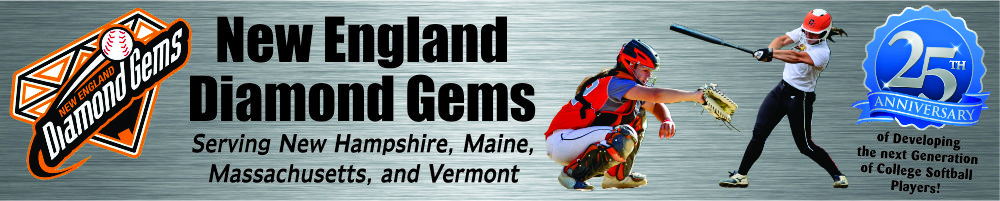 New England Diamond Gems, Softball, Run, Field