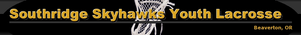 Southridge Skyhawks Youth Lacrosse, Lacrosse, Goal, Field