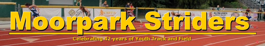 Moorpark Striders, Track, , Facilities
