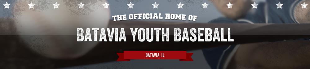Batavia Youth Baseball, Baseball, Run, Field
