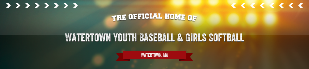 Watertown Youth Baseball & Girls Softball, Baseball, Run, Field