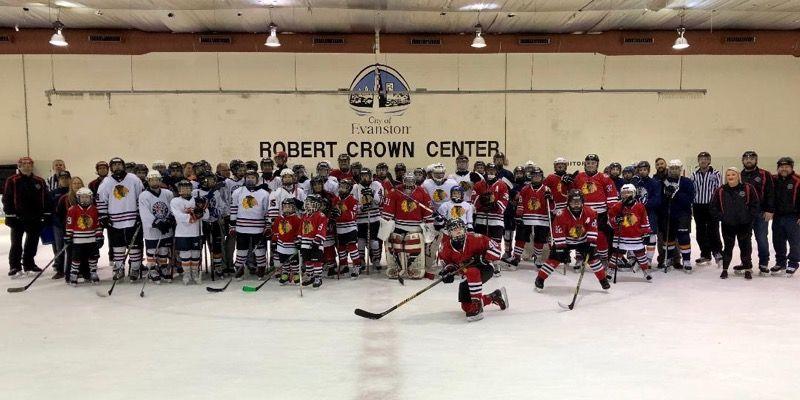 b9d9f8faf1f Wildkits Host Chicago Blackhawks Special Hockey Team