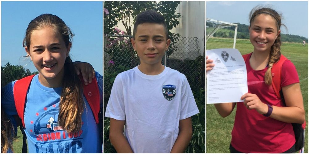 Congratulations To Emma Prestage Girls 2004 Marlon Monterroso Boys 2003 Lena Lukowicz Girls 2003 For Being Selected To The Us Youth Soccer Region I