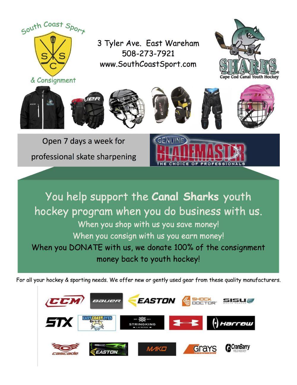 Cape Cod Canal Youth Hockey