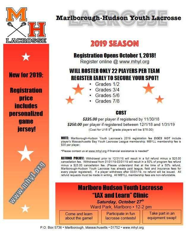 Marlborough Hudson Youth Lacrosse