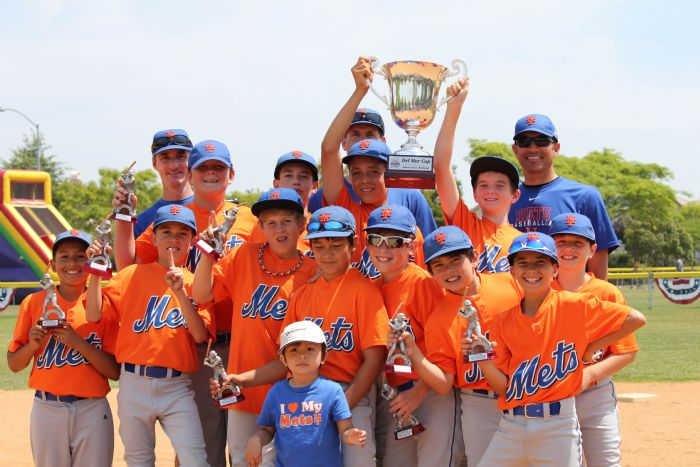 Major's Winner's: the NL Mets!