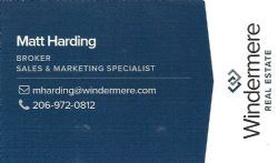 Matt Harding, Windermere Real Estate