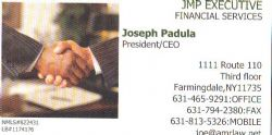 JMP Executive Financial Services - 631-465-9291