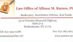 Law Office of Allison M. Ramos, PC - 631-393-0288