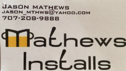 Mathews Installs