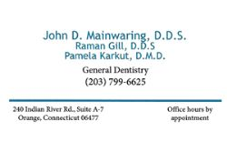 John D. Mainwaring General Dentistry