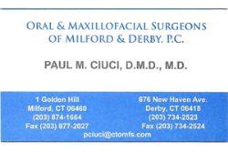 Oral & Maxillofacial Surgeons of Milford & Derby P.C.