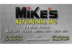 Mike's Auto Repear INC.
