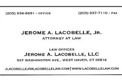 Jerome A. Lacobelle Jr. Attorney at Law