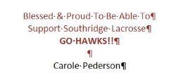 Carole Pederson