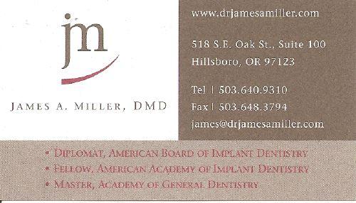 James A. Miller, DMD