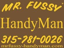 Mr. Fussy - Handy Man