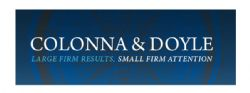 Grand Slam Sponsor - Law Office of Colonna & Doyle