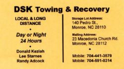 DSK Towing & Recovery