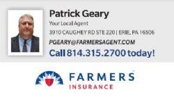 Patrick Geary  - Farmers Insurance