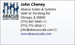 Abacus Scales & Systems