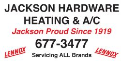 Jackson Hardware Heating & Cooling
