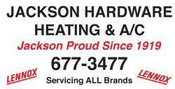 Jackson Hardware Heating & Cooling