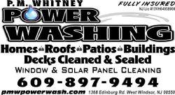 P.M. Whitney Power Washing
