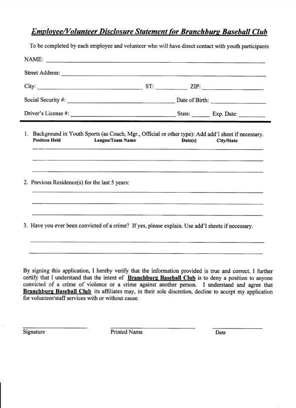 Documents | Branchburg Baseball Club