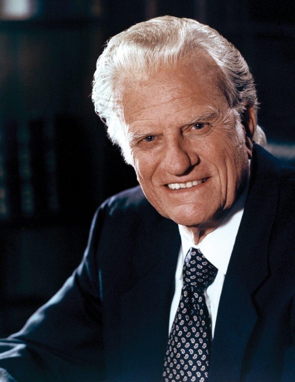 Portrait of Billy Graham