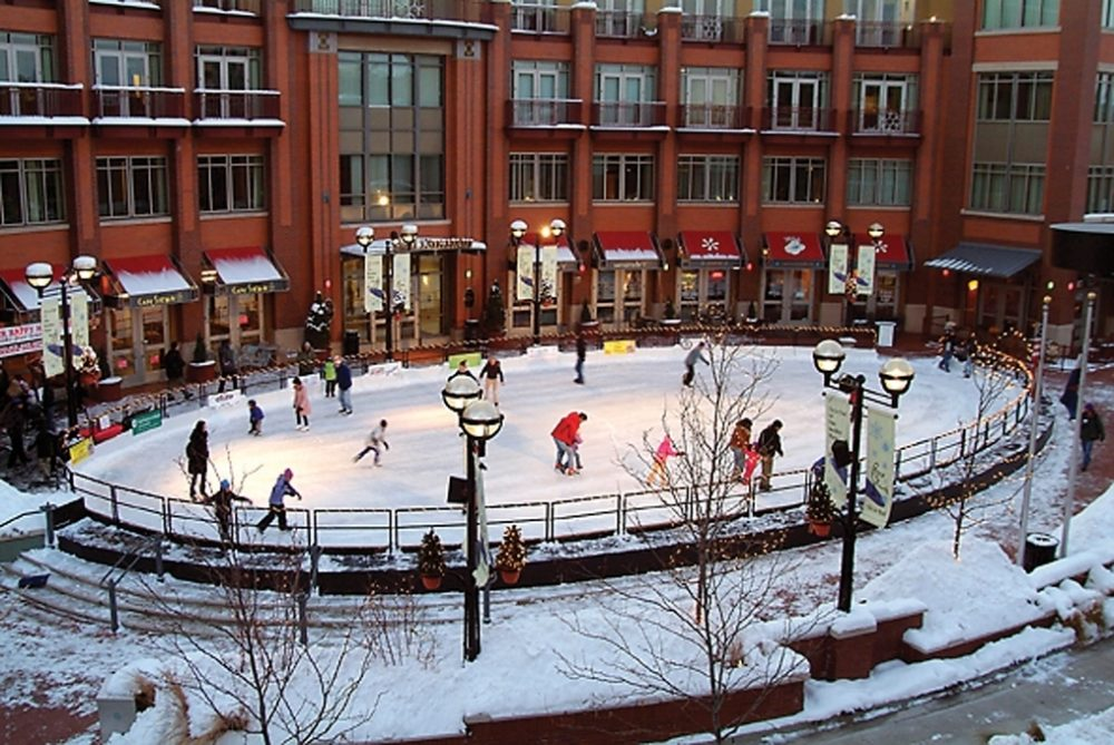 Reclaim your youth with an evening of ice-skating at the outdoor rink in Boulder.