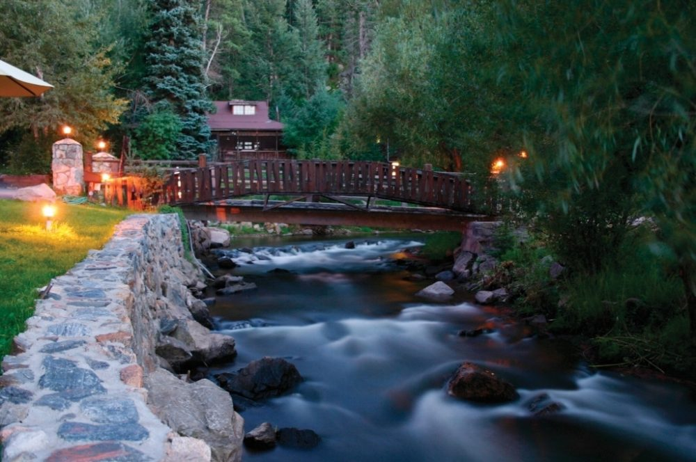 Relax amid beauty at Highland Haven Creekside Inn in Evergreen.