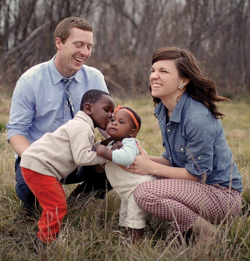 Meg Gleason and her family