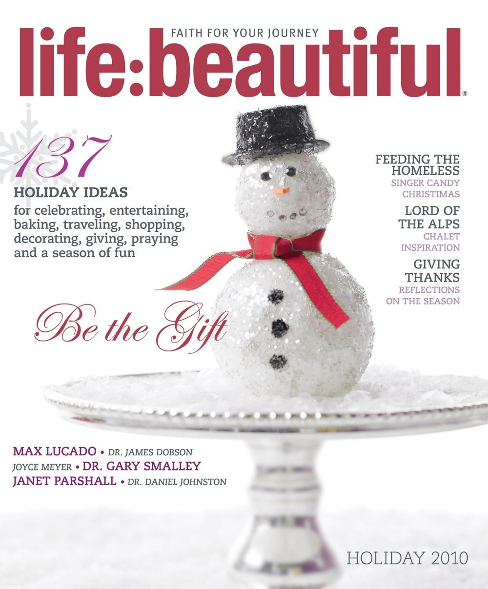 Cover of Life:Beautiful magazine Holiday 2010
