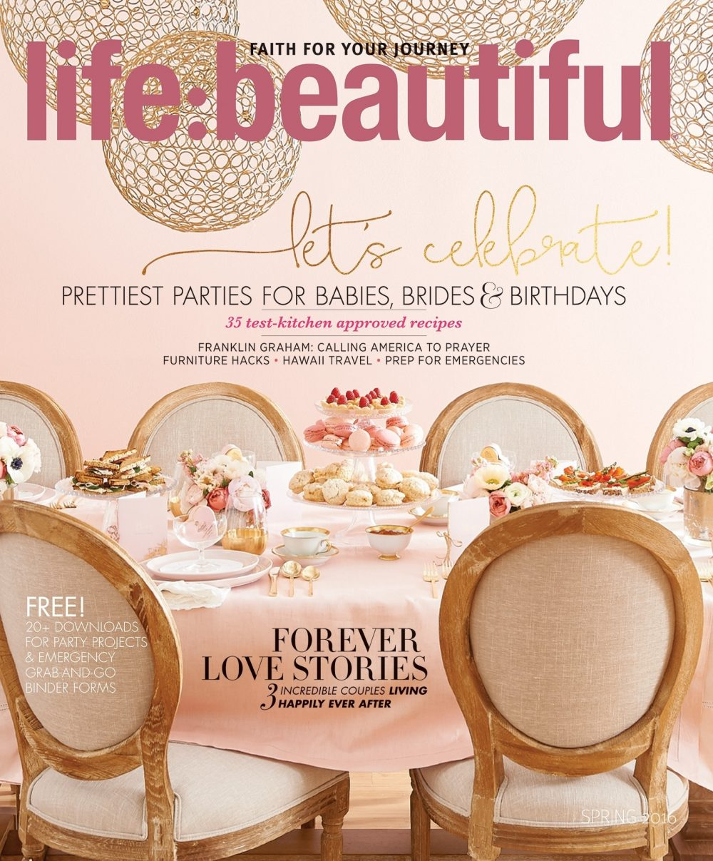 Cover of Life:Beautiful magazine Spring 2016