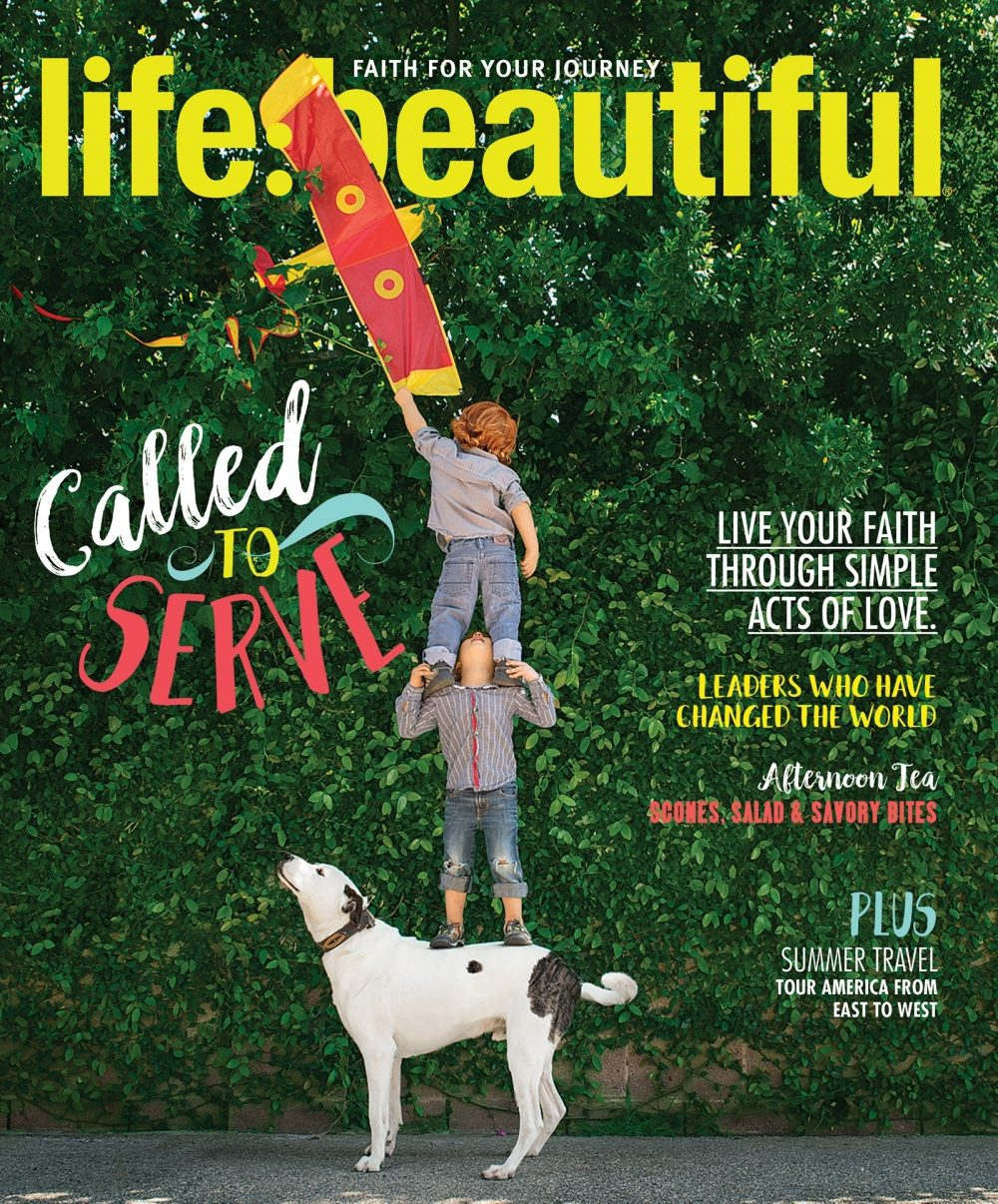 Life:Beautiful Magazine cover Spring/Summer 2018