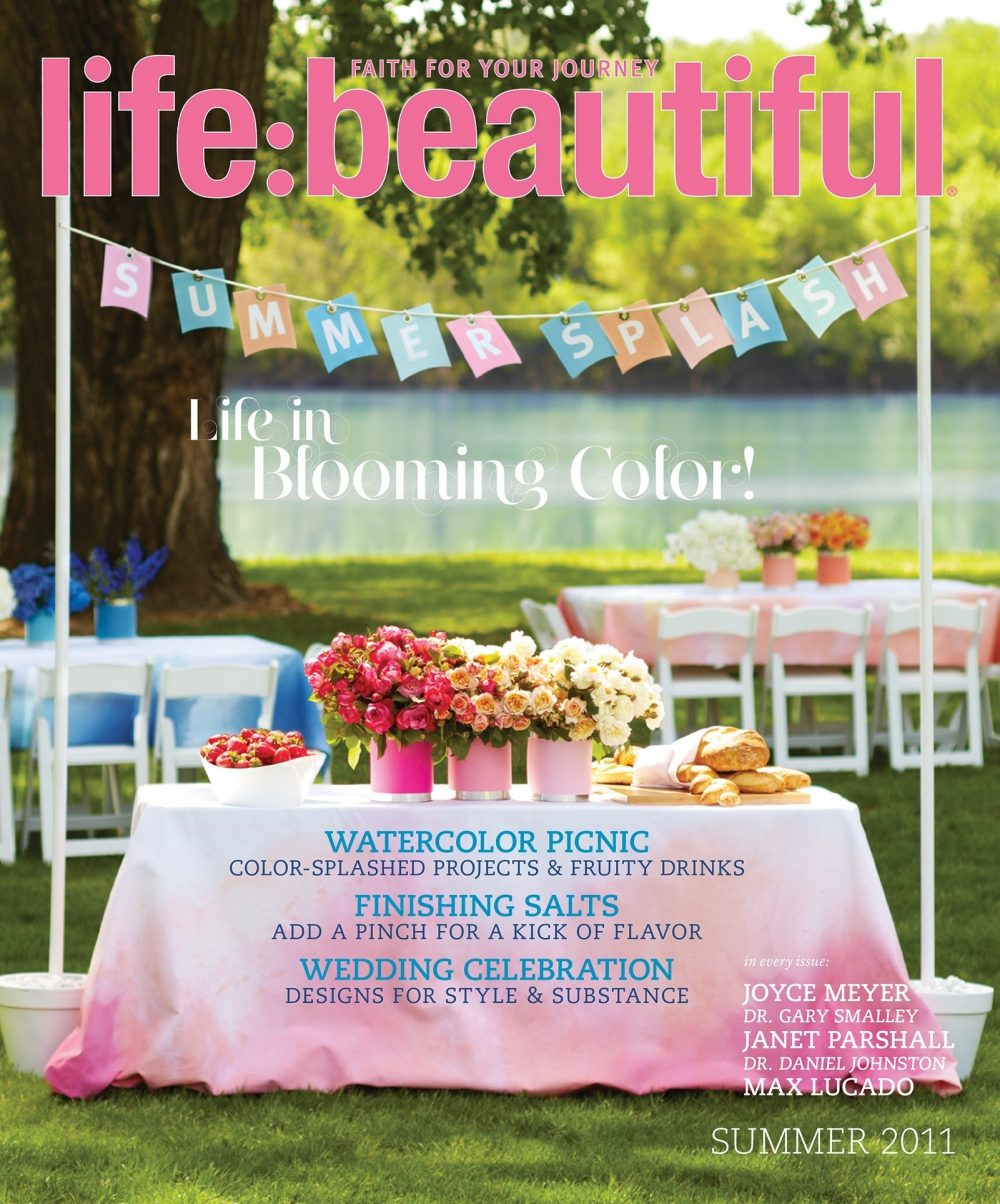 Cover of Life:Beautiful magazine Summer 2011