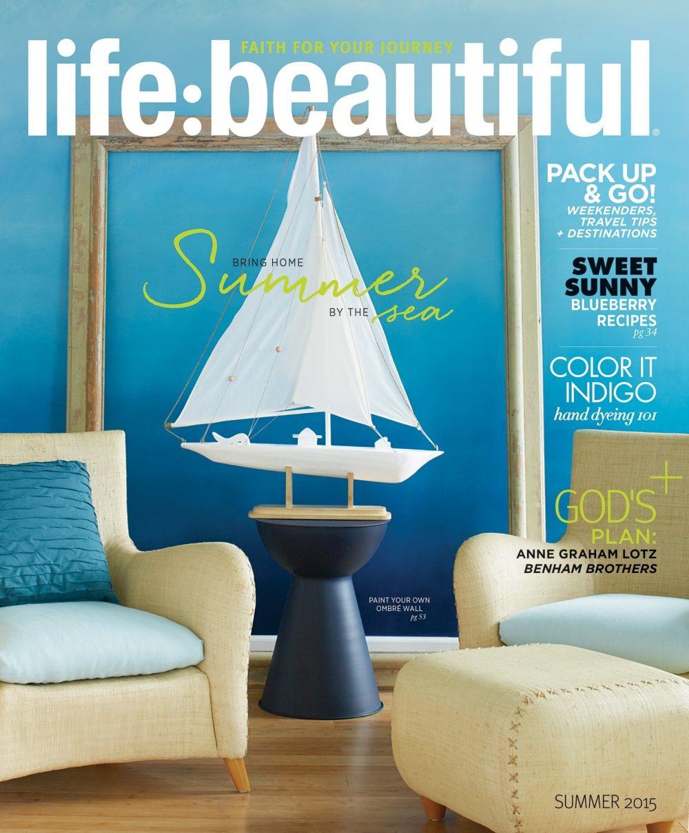 Cover of Life:Beautiful magazine Summer 2015