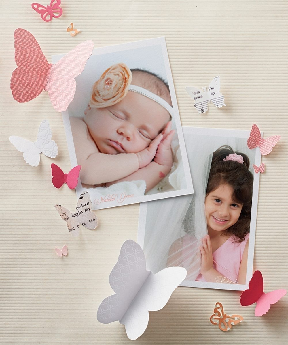 Photos of Natalia Grace Sitton and her older sister, Makayla, who was killed two years before Natalia was born