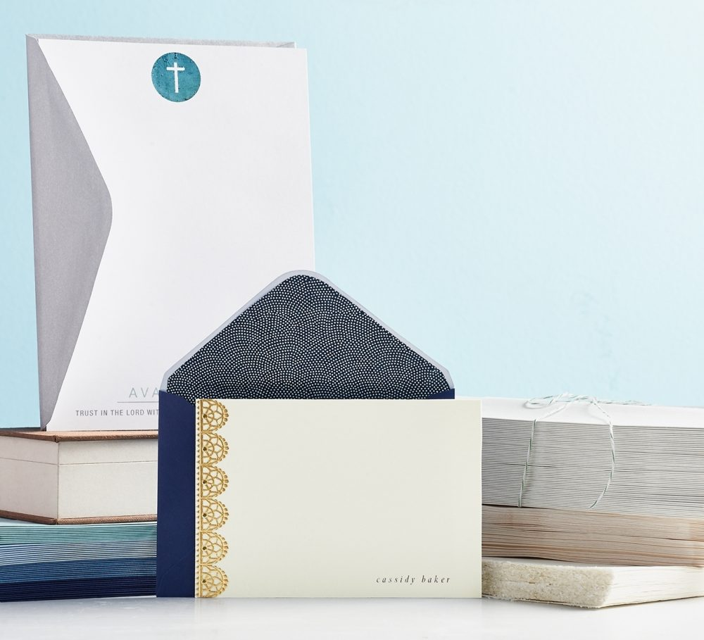 Beautifully crafted handmade stationery never goes out of style, even in this age of electronic communications.