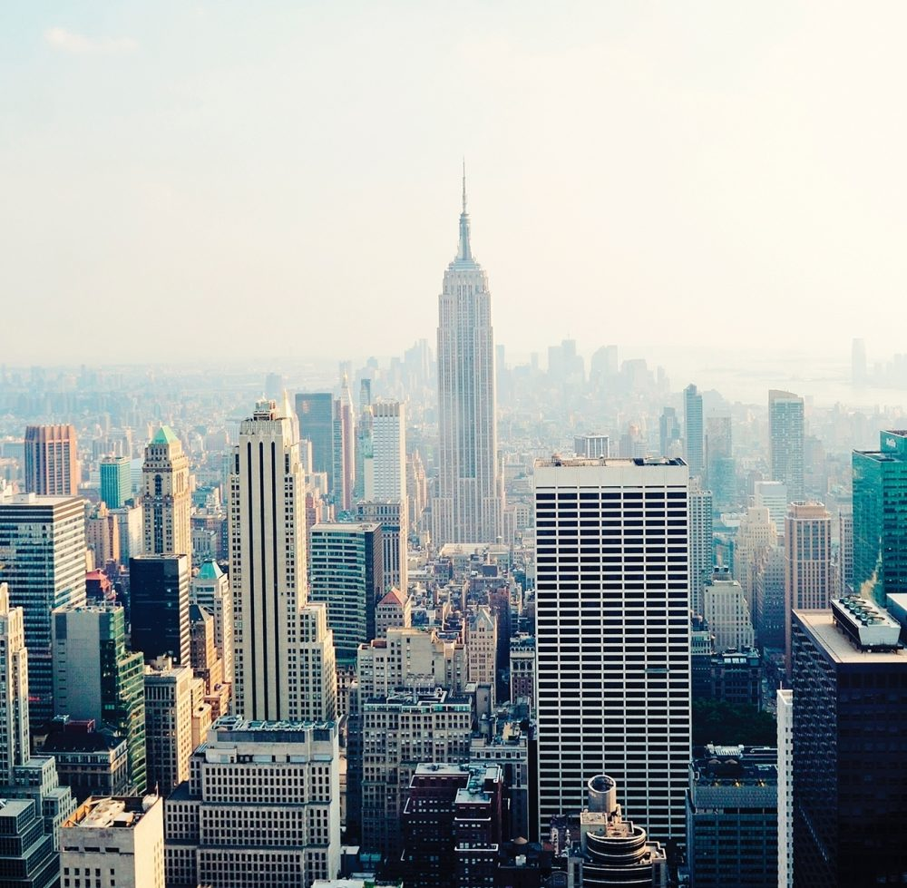 Trek around New York City with us as we search for food, sights and expressions of faith.